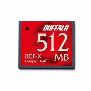 BUFFALO RCF-X512MY コンパクトフラッシュ 512MB
