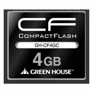 グリーンハウス GH-CF4GC コンパクトフラッシュ 133倍速 4GB