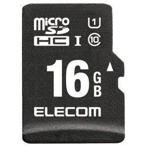 ELECOM MF-CAMR016GU11A ドラレコ /カーナビ向け 車載用MICROSDHCメモリカード 16GB