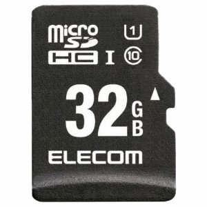 ELECOM MF-CAMR032GU11A ドラレコ /カーナビ向け 車載用MICROSDHCメモリカード 32GB