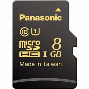 PANASONIC RP-SMHA08GJK MICROSDHC UHS-Iカード 8GB CLASS10