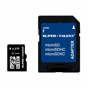 スーパータレント ST16MSU1P UHS-I CLASS10対応 MICROSDHCカード 16GB