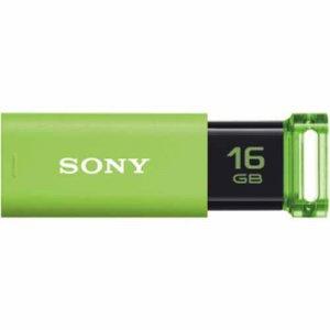 SONY USM16GU G USBメモリー ポケットビット Uシリーズ 16GB グリーン