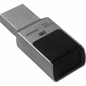 HIDISC HDUF131N32GFP3 指紋認証機能式セキュリティUSBメモリ 32GB