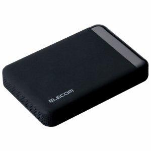 ELECOM ELP-EEN020UBK セキュリティ対策用ポータブルハードディスク 2TB