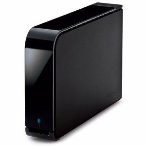 BUFFALO HD-LX1.0U3D ハードウェア暗号機能搭載 USB3.0用 外付けHDD 1TB ブラック