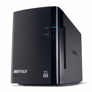 BUFFALO HD-WL2TU3/R1J ドライブステーション ミラーリング機能搭載 外付けHDD USB3.0用 2ドライブ 2TB