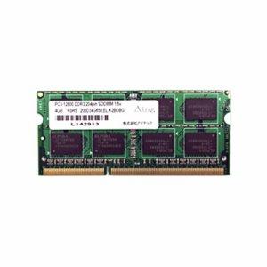 アドテック ADS12800N-H4G DDR3 1600MHZ PC3-12800 204PIN SO-DImm 4GB 省電力