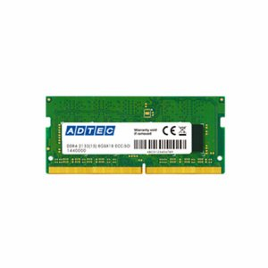 アドテック ADS2400N-H8G DDR4 2400MHZ PC4-2400 260PIN SO-DImm 8GB 省電力