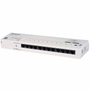 PANASONICLSネットワークス PN211207 SWITCH-S12E タップ型スイッチングハブ 12ポート