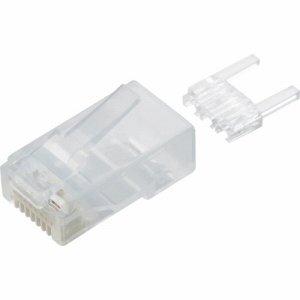 ELECOM LD-6RJ45T10/T ツメの折れないLANコネクタ カテゴリー6 LD-6RJ45T10 /T
