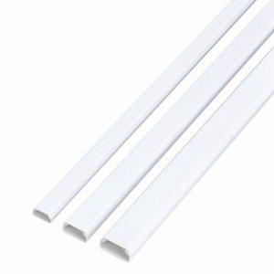 ELECOM LD-GAF1/WH フラットモール テープ付 幅17mm×長さ1M ホワイト LD-GAF1