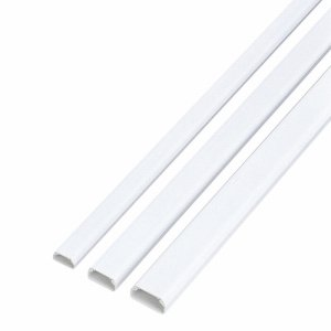 ELECOM LD-GAF2/WH フラットモール テープ付 幅22mm×長さ1M ホワイト LD-GAF2