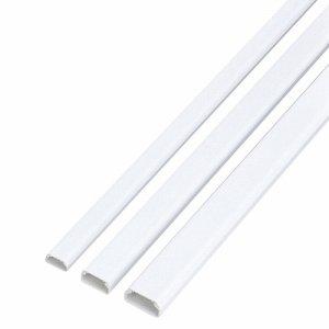 ELECOM LD-GAF3/WH フラットモール テープ付 幅26mm×長さ1M ホワイト LD-GAF3