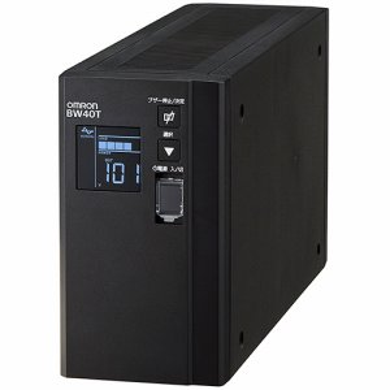オムロン BW40T UPS 無停電電源装置(常時商用給電 /正弦波出力) 400VA /250W