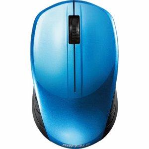 BUFFALO BSMBW107BL 無線 BLUELED 3ボタン スタンダードマウス ブルー