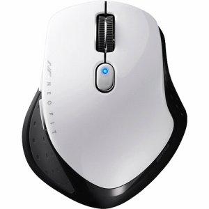 BUFFALO BSMBW510SWH 無線 BLUELED 5ボタン ネオフィットマウス Sサイズ ホワイト