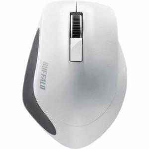 BUFFALO BSMBW300MWH 無線 BLUELED 3ボタン プレミアムフィットマウス ホワイト