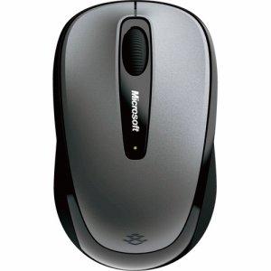 Microsoft GMF-00423 ワイヤレス モバイル マウス 3500 ユーロシルバー