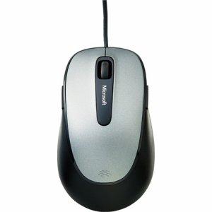 Microsoft 4EH-00006 コンフォート マウス 4500 フォー ビジネス ダークグレー