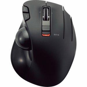 ELECOM M-XT2DRBK ワイヤレストラックボール(親指操作タイプ) ブラック