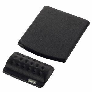 ELECOM MP-114BK マウスパッド&リストレスト COMFY ブラック