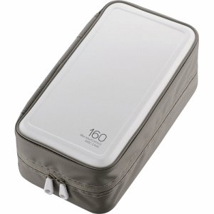 ELECOM CCD-HB160WH BLU-RAY・CD・DVD対応ファスナーケース 160枚収納 ホワイト
