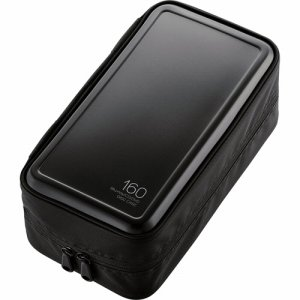 ELECOM CCD-HB160BK BLU-RAY・CD・DVD対応ファスナーケース 160枚収納 ブラック