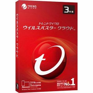 トレンドマイクロ TICEWWJEXSBUPN3701Z ウイルスバスター クラウド 3年版
