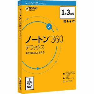 Symantec 21394856 ノートン 360 デラックス 1年