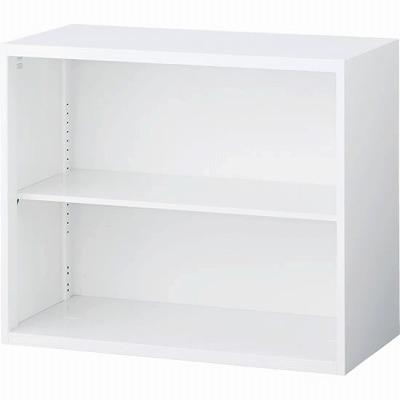 RW4-07K オープン書庫 ホワイト