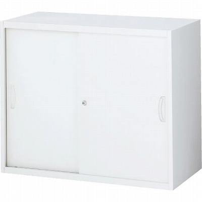 RW4-07S 引戸書庫(スチール) ホワイト