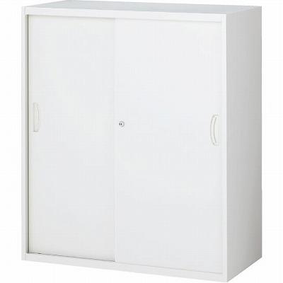 RW4-10S 引戸書庫(スチール) ホワイト