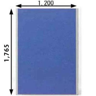 ローパーテーション MPシリーズ 高さ1765mm 幅1200mm ブルー