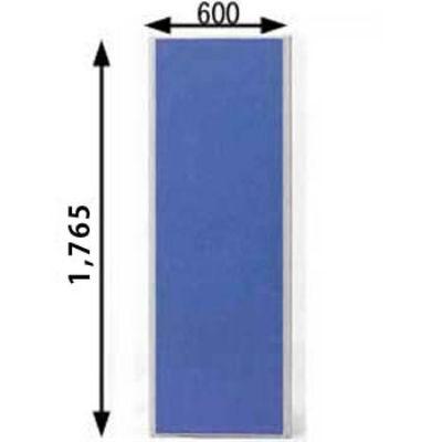 ローパーテーション MPシリーズ 高さ1765mm 幅600mm ブルー