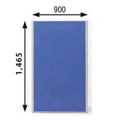 ローパーテーション MPシリーズ 高さ1465mm 幅900mm ブルー