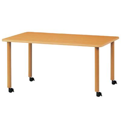 ハイアジャスターテーブル キャスター脚 幅1600