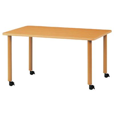 ハイアジャスターテーブル キャスター脚 幅1500
