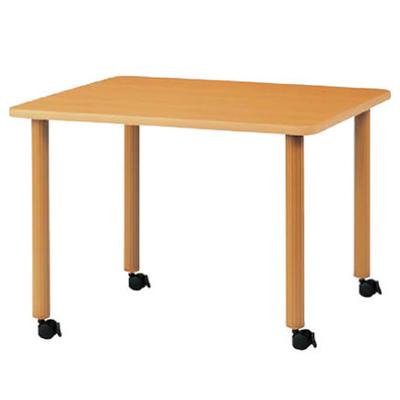 ハイアジャスターテーブル キャスター脚 幅1200