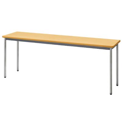 会議用テーブル ソフトエッジ 幅1800 奥行450 ペールアルダー
