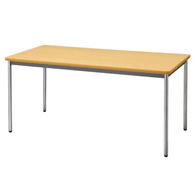 会議用テーブル ソフトエッジ 幅1500 奥行750 ペールアルダー