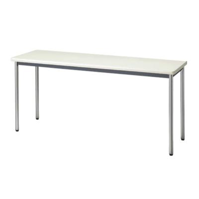 会議用テーブル ソフトエッジ 幅1500 奥行450 ニューグレー