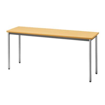 会議用テーブル ソフトエッジ 幅1500 奥行450 ペールアルダー