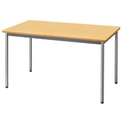 会議用テーブル ソフトエッジ 幅1200 奥行750 ペールアルダー