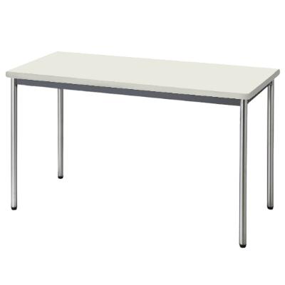 会議用テーブル ソフトエッジ 幅1200 奥行600 ニューグレー
