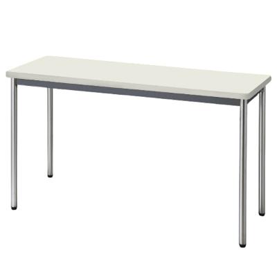 会議用テーブル ソフトエッジ 幅1200 奥行450 ニューグレー