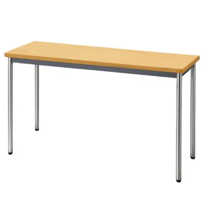 会議用テーブル ソフトエッジ 幅1200 奥行450 ペールアルダー