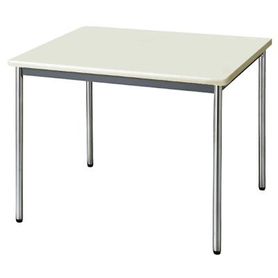 会議用テーブル ソフトエッジ 幅900 奥行900 ニューグレー