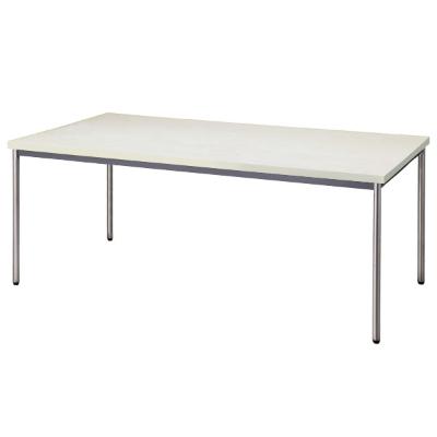 会議用テーブル 幅1800 奥行900 ニューグレー