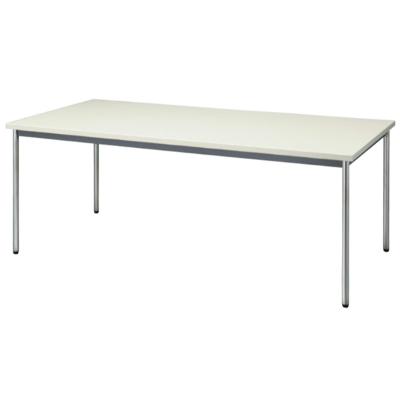 会議用テーブル 幅1800 奥行750 ニューグレー
